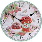 """Часы настенные """"Raspberry"""" Ø29см"""