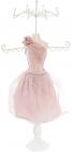 """Підставка для прикрас """"Рожева сукня"""" 17.5х12.5х40.5см, підвіска"""