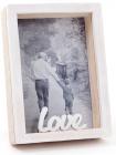 """Фоторамка настольная """"Enjoy Moment"""" Love, фото 9х13см, деревянная"""