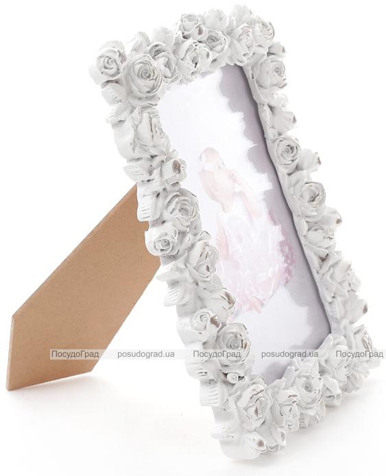 """Фоторамка Sweet White """"Белые Розы"""" для фото 9х13см"""