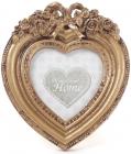 """Фоторамка настільна Tudor """"Бароко"""" Серце, для фото 7.5х7.5см"""