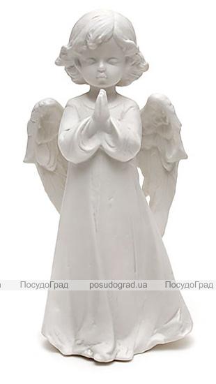 """Статуэтка декоративная """"Ангелочек"""" 26см, искусственный камень"""