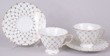 Чайный сервиз Princess Gold-151 12 предметов