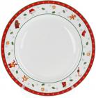 """Тарілка обідня """"З Різдвом"""" Ø26.7см, порцелянова"""
