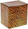 """Заварник фарфоровый """"Тигры"""" 320мл с ложкой и металлическим ситом"""