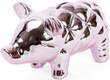 """Копилка-свинка """"Розовый блеск"""" 17.9х11.4х10см, керамическая"""