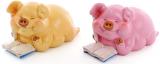 """Набор 2 копилки """"Свинка с книгой"""" 14х7.5х8см"""