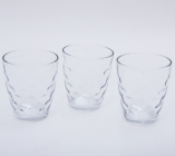 """Набор 3 стакана """"Эмилия""""-33 прозрачные 350мл"""
