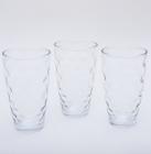 """Набор 3 стакана """"Эмилия""""-41 прозрачные 425мл"""