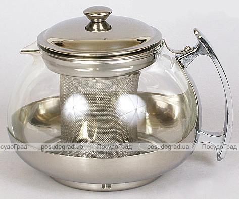 Чайник заварочный BHK 750мл стеклянный с фильтром