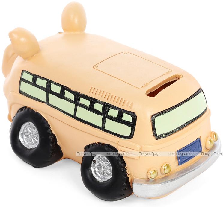 """Скарбничка-свинка """"Автобус"""" 19.5х11х10.5см"""