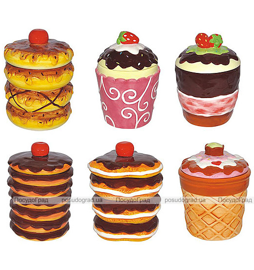 Банка Ceramic Cake 350мл для хранения сыпучих продуктов