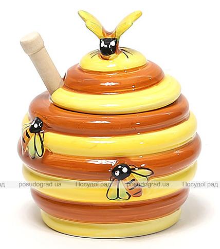 """Медовница с ложкой Honey """"Пчелка"""""""