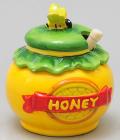 """Медовница с ложкой Honey """"Горшочек"""""""
