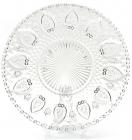 Набор 6 стеклянных тарелок Ajour Ø25см