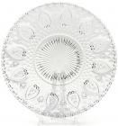 Набор 6 стеклянных тарелок Ajour Ø22.5см, обеденные тарелки