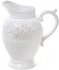 Кувшин Leeds Розы 1900мл, белая керамика