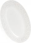 Блюдо керамическое Leeds Королевская Лилия 33х27.2х2.5см, овальное