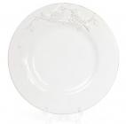 """Набор 4 обеденные тарелки Leeds Птицы Ø20.5см, """"винтажная"""" керамика"""