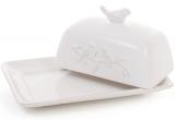 "Маслянка керамічна Leeds Птахи 24х16.4х11.3см, ""вінтажна"" кераміка"