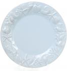 """Набор 3 тарелки """"Морской Бриз"""" Ø25.6см, обеденные, голубая керамика"""
