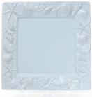"""Блюдо керамическое """"Морской Бриз"""" 26х26х2.4см, голубое"""
