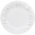 """Набір 3 тарілки """"Морський Бриз"""" Ø25.6см, обідні, біла кераміка"""