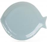 """Блюдо керамическое """"Морской Бриз Рыба"""" 20х17х2.3см"""