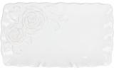 Блюдо сервіровочне Аеліта 31.7х18.5х2.8см прямокутне, кераміка