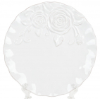 Набір 4 обідніх тарілки Аеліта Ø21см, кераміка