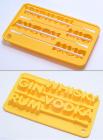 Силіконова форма для льоду на паличці Напої 19x12x2см