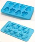 Силіконова форма для льоду з підсилювачем Penguins 20х11х3см