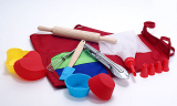 Набір дитячий для випічки Молодий Кухар 10 предметів