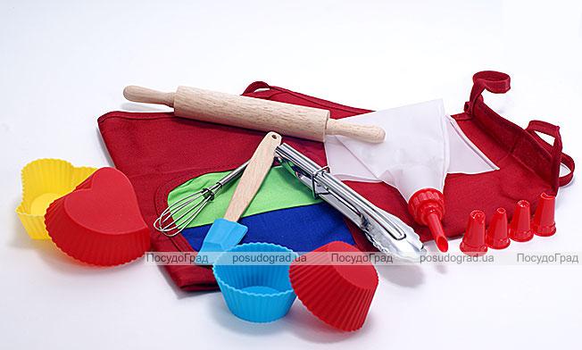 Набор детский для выпечки Молодой Повар 10 предметов