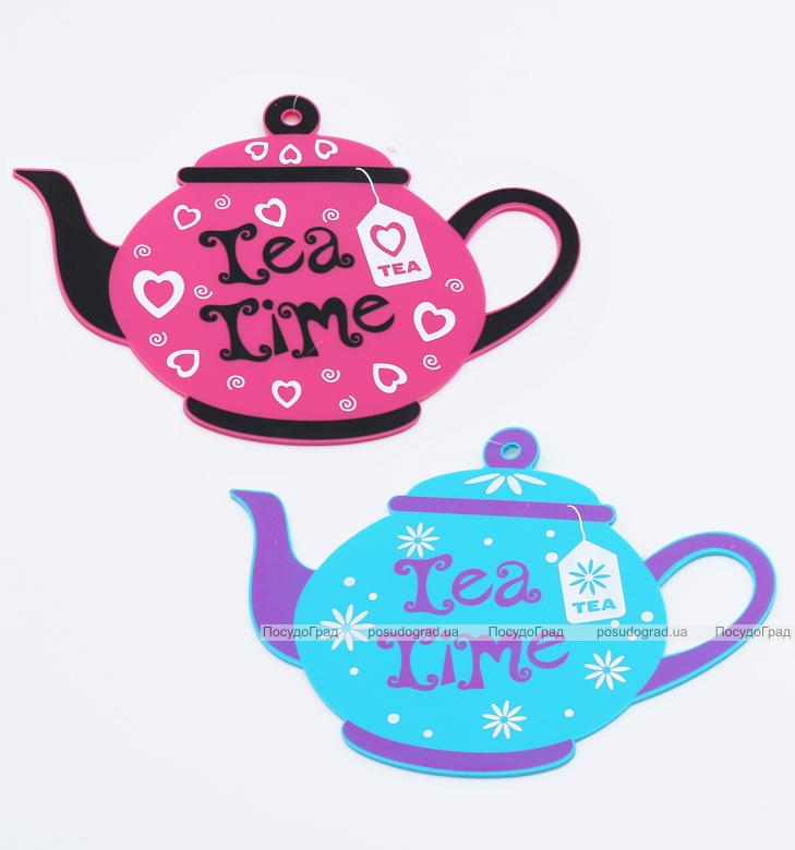 Подставка под горячее Tea Time 23x17см, силиконовая