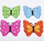Подставка под горячее Бабочка 20x18см, силиконовая