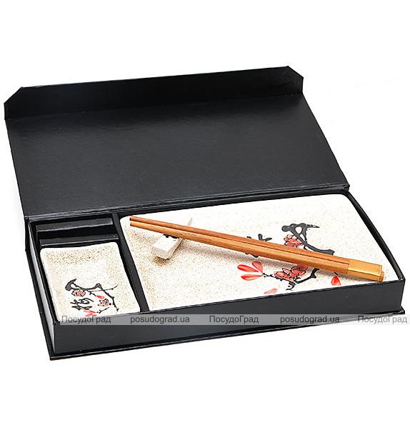 "Набор для суши Iwaki ""Красная сакура"" 4 предмета"