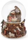"""Водяна куля """"Святий обряд"""" різдвяний декор з музикою 14.5"""
