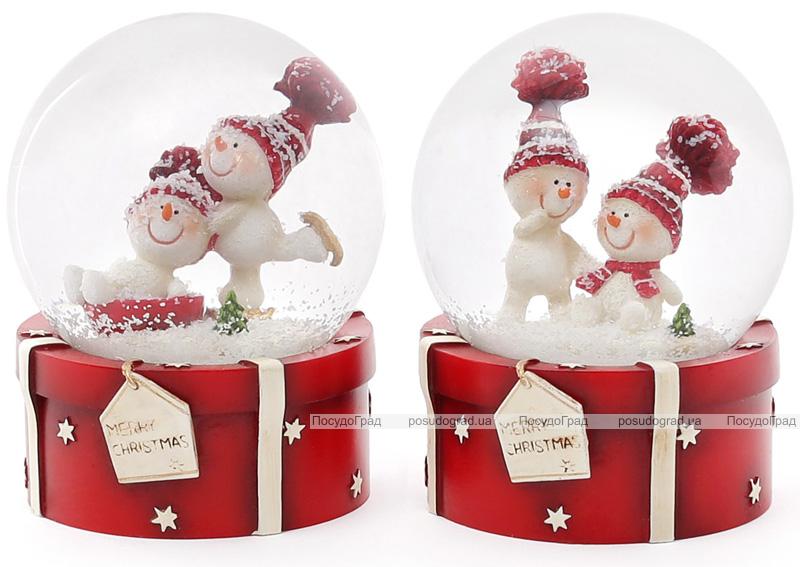 """Декоративный водяной шар """"Merry Christmas"""" 9см"""