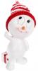 """Статуэтка """"Снеговик в красной шапке"""" 14.5см"""