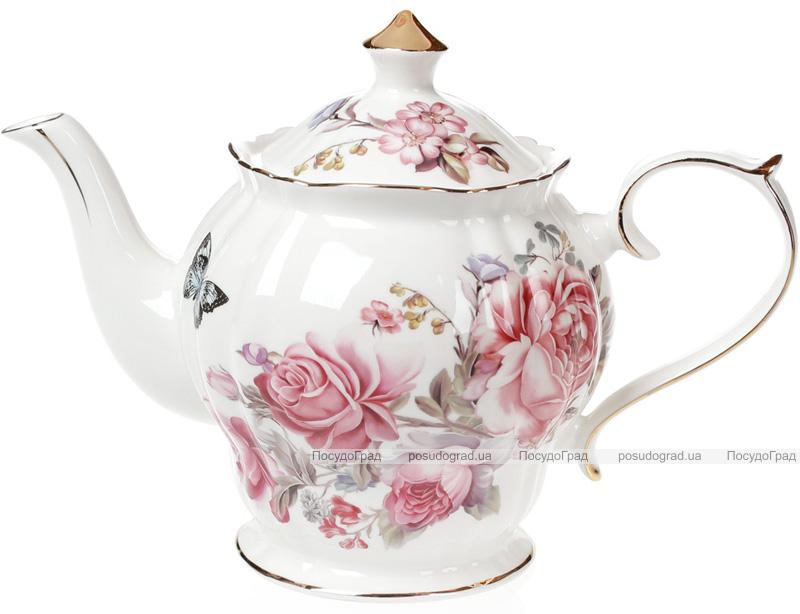 """Чайник заварочный """"Версаль"""" 1250мл, фарфоровый"""