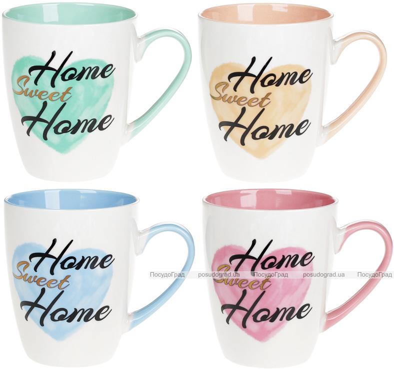 Кружка Home Sweet Home Сердце 360мл фарфоровая