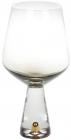 Набір 4 келиха Chic для червоного вина 550мл, димчастий сірий