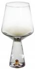 Набір 4 келиха Chic для білого вина 400мл, димчастий сірий