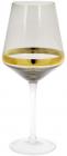 Набір 4 келиха Etoile для червоного вина 550мл, димчастий сірий