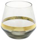 Набір 4 склянки Etoile 500мл, димчастий сірий