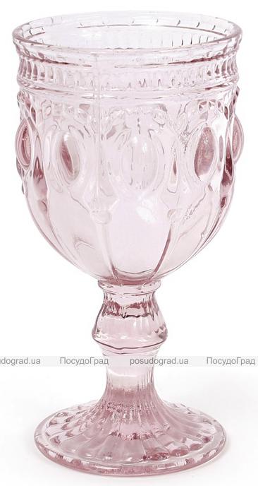 Набор 6 винных бокалов Siena Toscana 280мл, розовое стекло
