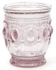 Набір 6 склянок Siena Toscana 250мл, рожеве скло
