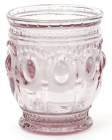 Набор 6 стаканов Siena Toscana 250мл, розовое стекло