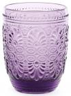 Набор 6 стаканов Siena Toscana 300мл, пурпурное стекло